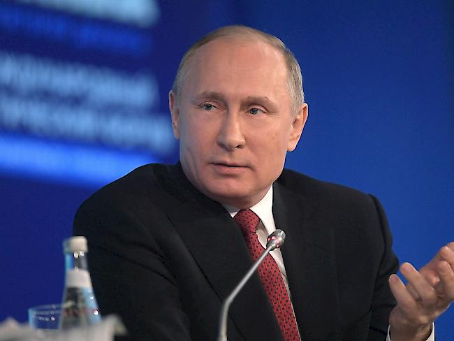 Russland: Putin äußert sich zu Protesten gegen Korruption