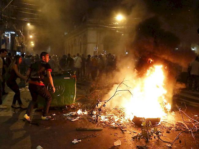 Konflikt im Parlament um Präsidenten-Wiederwahl in Paraguay