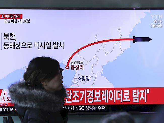 Nordkorea-Konflikt: Trump will Peking in die Pflicht nehmen