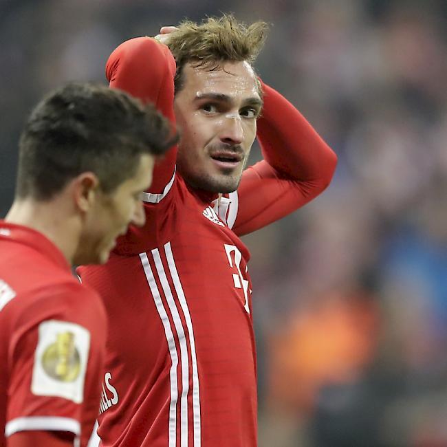 Schock für den FC Bayern München: Mats Hummels fehlt gegen Real Madrid