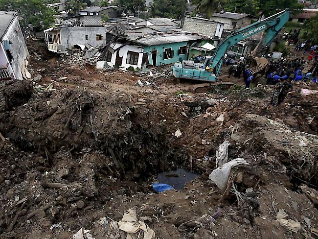 Sri Lanka: Opferzahl nach Einsturz von Deponie steigt weiter