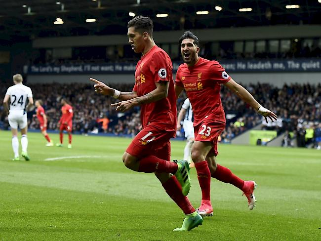 Fußball: FC Liverpool dank Firmino-Treffer auf Champions-League-Kurs