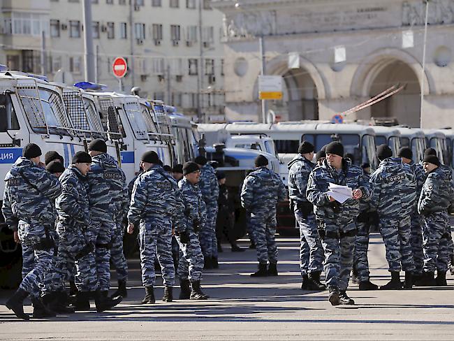 Bewaffneter tötet mehrere Menschen in russischem Geheimdienstbüro