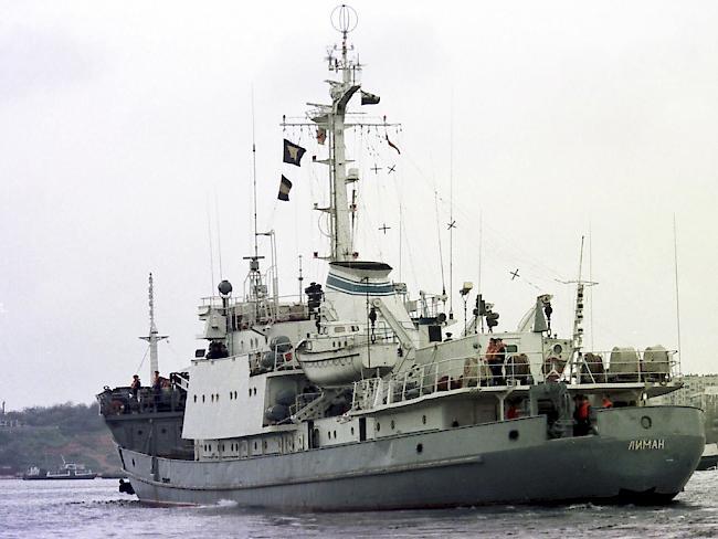 Russisches Aufklärungsschiff bei Kollision vor türkischer Küste schwer beschädigt