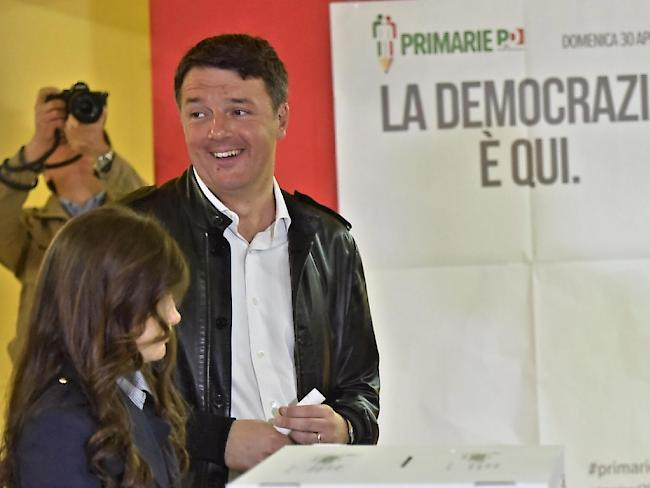 Italien: Renzi erobert Vorsitz der Regierungspartei zurück
