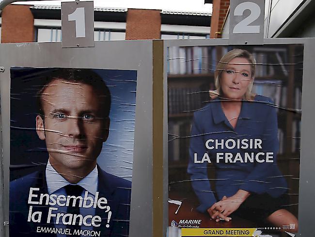 Wahlen | Le Pen oder Macron: Schicksalswahl in Frankreich