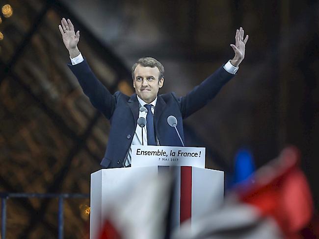 Wahlen - Macron will Frankreichs Spaltung überwinden