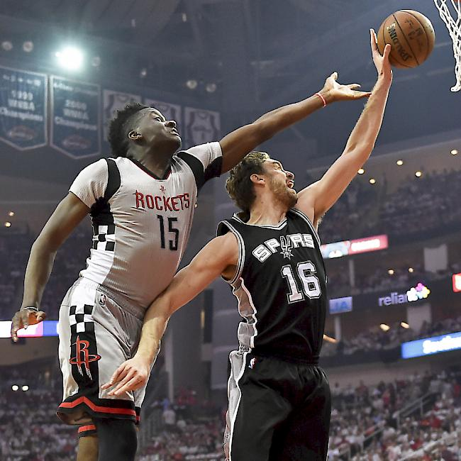 Houston Rockets in den Viertelfinals gescheitert