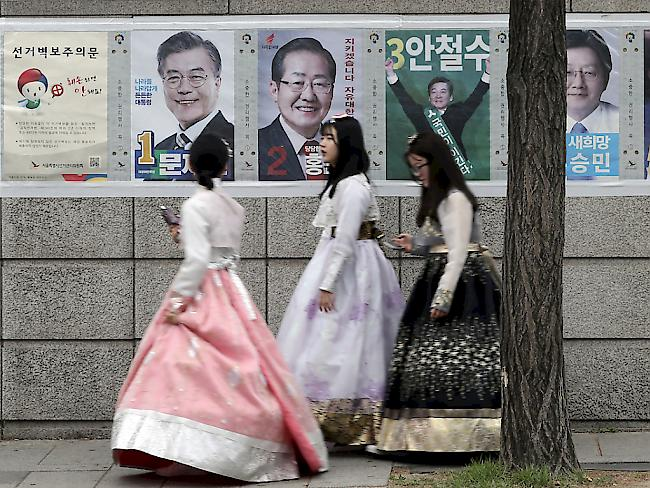 Wahlen Präsident Südkorea: Linksliberaler Moon Jae In gewinnt Präsidentenwahl in Südkorea