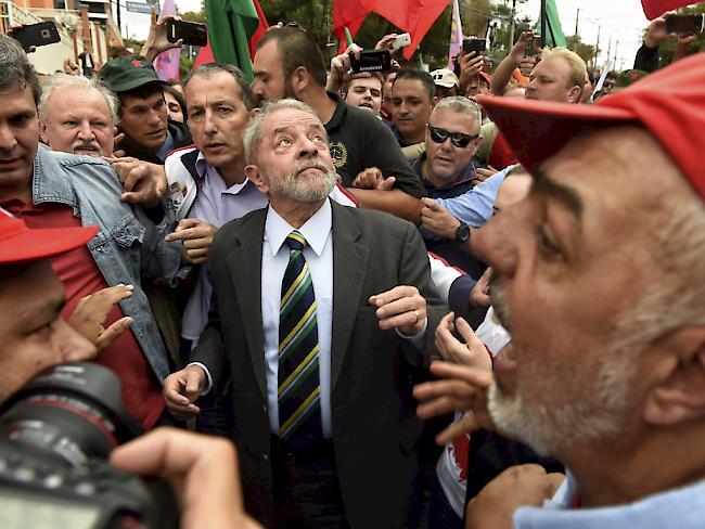 Nach Korruptionsaffäre Lula will wieder Präsident Brasiliens werden