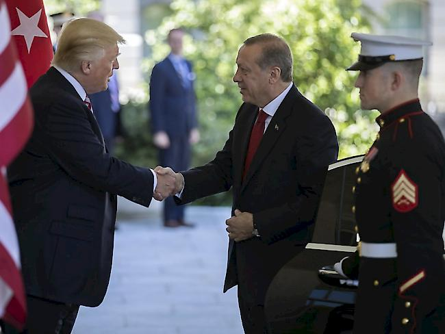 Erdogan-Bodyguards rasten in Washington aus