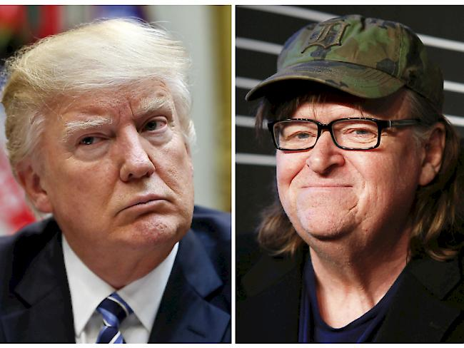 Michael Moore plant Film über Donald Trump