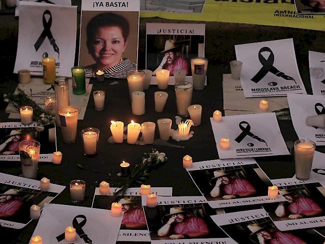 Mord auf offener Straße: Journalist in Mexiko erschossen