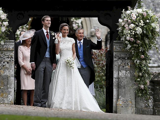 Pippas Heirat: Darum gibt es keine Fotos von Meghan Markle