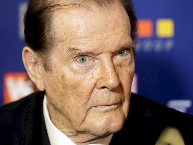 Schauspieler Roger Moore 89-jährig gestorben
