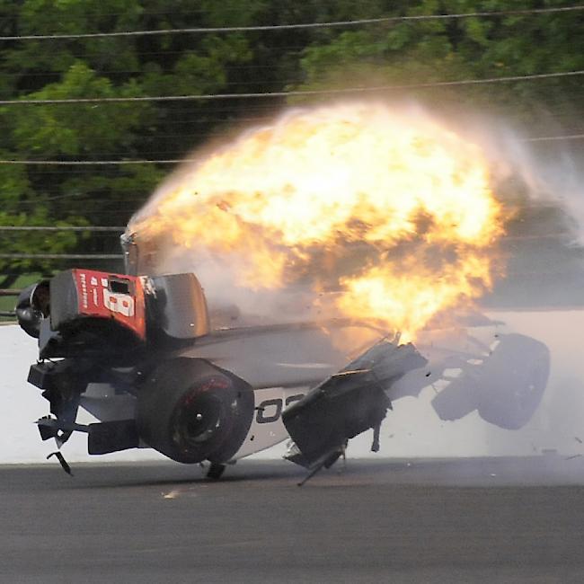 Indy 500: Schwerer Unfall überschattet Debüt von Fernando Alonso