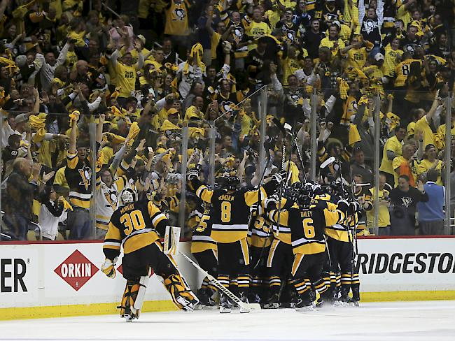 Pittsburgh Penguins ziehen ins Stanley-Cup-Finale ein