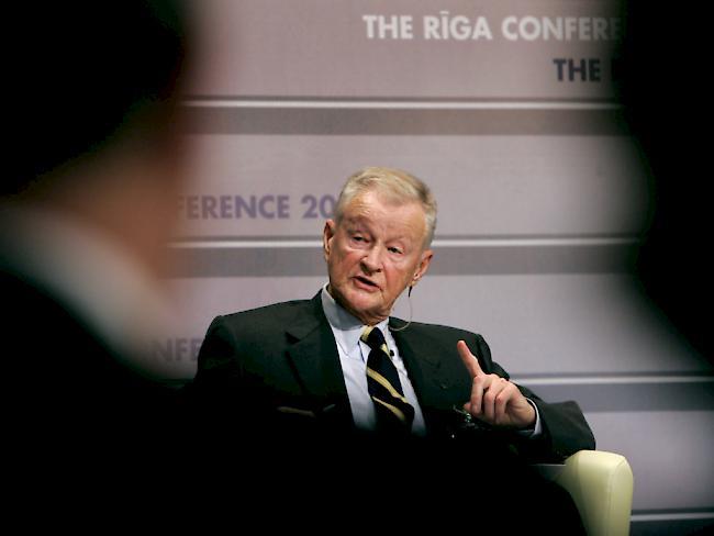 USA und Polen trauern um Zbigniew Brzezinski