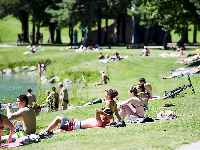 Erster Hitzetag auch im Norden der Schweiz