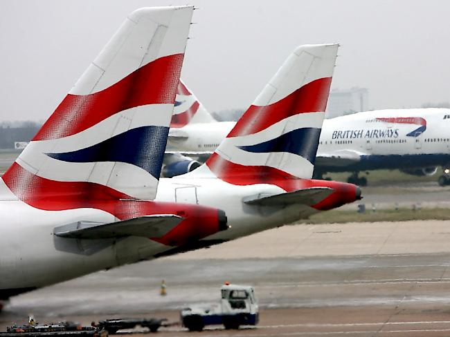 Bei British Airways: IT-Panne wirft Flugbetrieb durcheinander