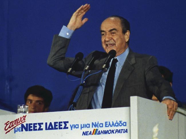 Ehemaliger Regierungschef Mitsotakis gestorben