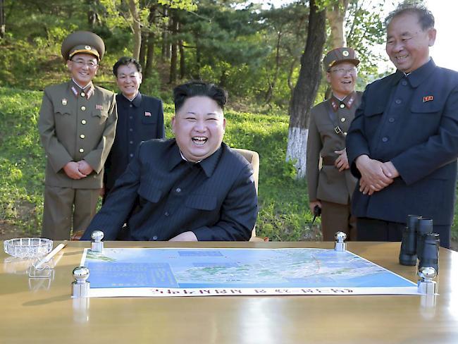 Nordkorea verschärft nach Raketentest Ton gegen USA