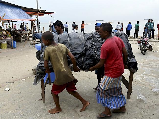 450'000 Menschen in Bangladesch vor Zyklon in Sicherheit gebracht