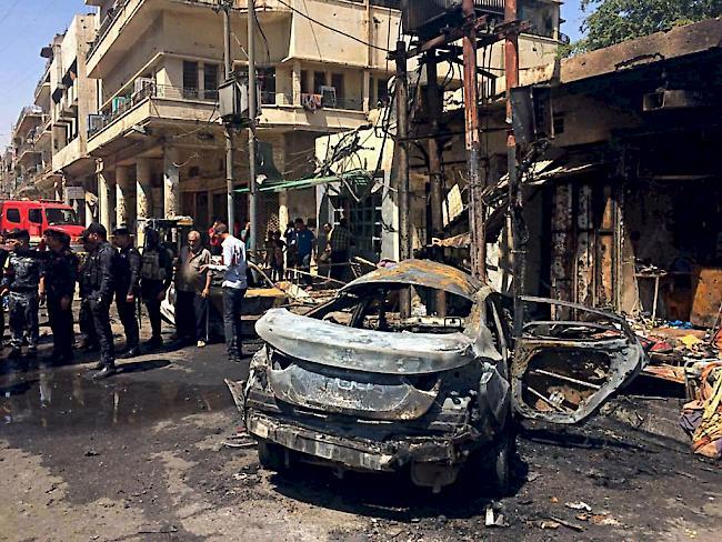Irak: Neuer Anschlag mit Autobombe in Bagdad: Mindestens 15 Tote