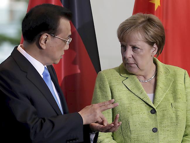 EU und China wollen Verpflichtungen bestätigen