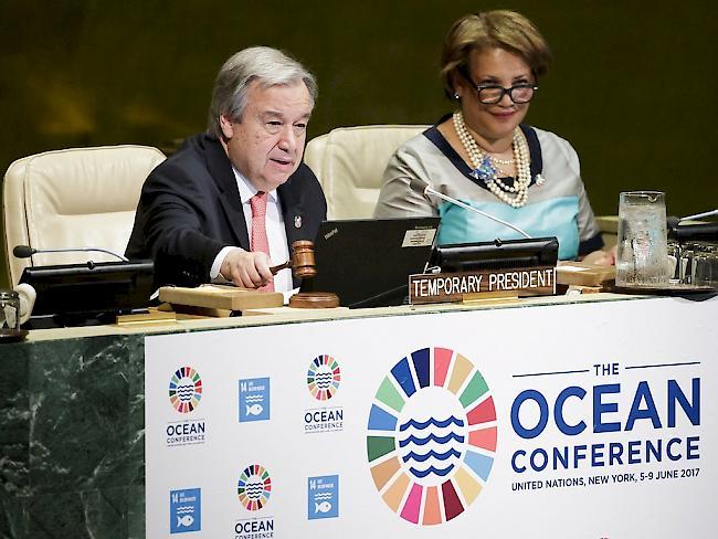 New York: Meeresschutz-Konferenz der UNO