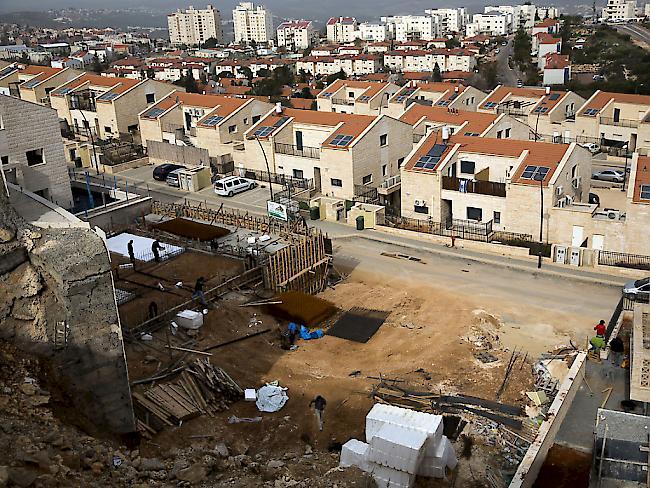 Israel plant Ausbau von Siedlungen