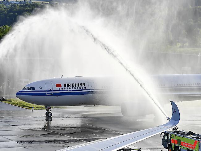 Air China will Schweiz-China-Deals ankurbeln