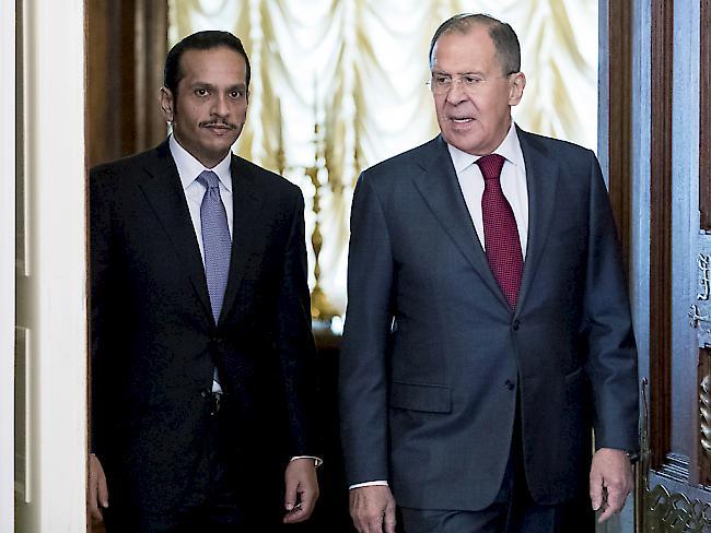 Gabriel: Katar-Krise könnte zu Krieg führen