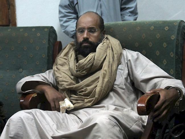 Libysche Miliz gab Freilassung von Gaddafi-Sohn Seif bekannt