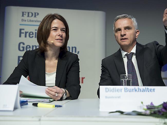 Die FDP will einen Bundesrat aus der lateinischen Schweiz