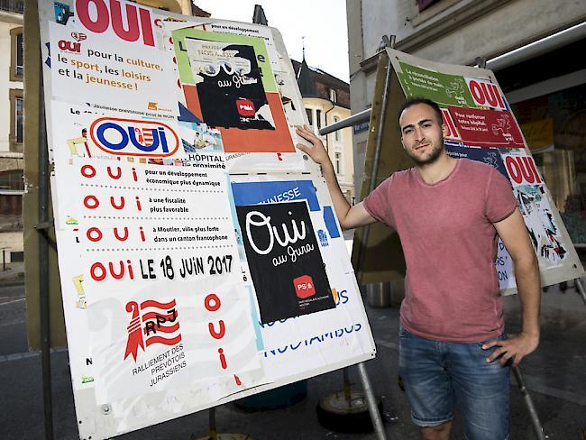Moutier will von Bern zum Kanton Jura wechseln