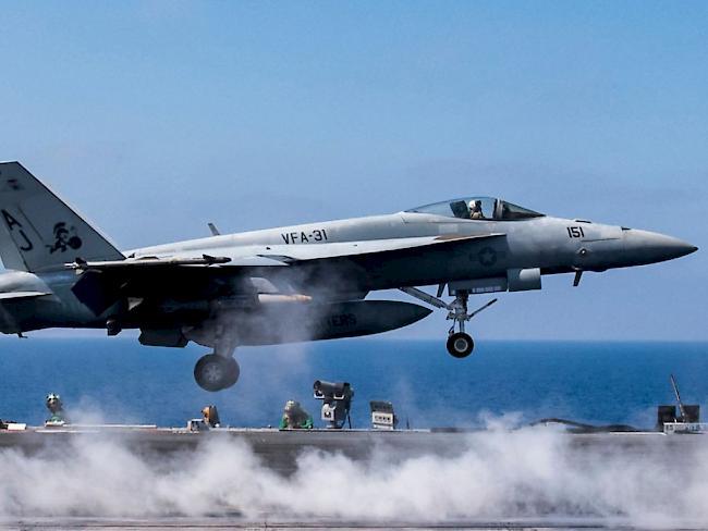 Nahe al-Rakka: USA bestätigen Abschuss von syrischem Kampfjet