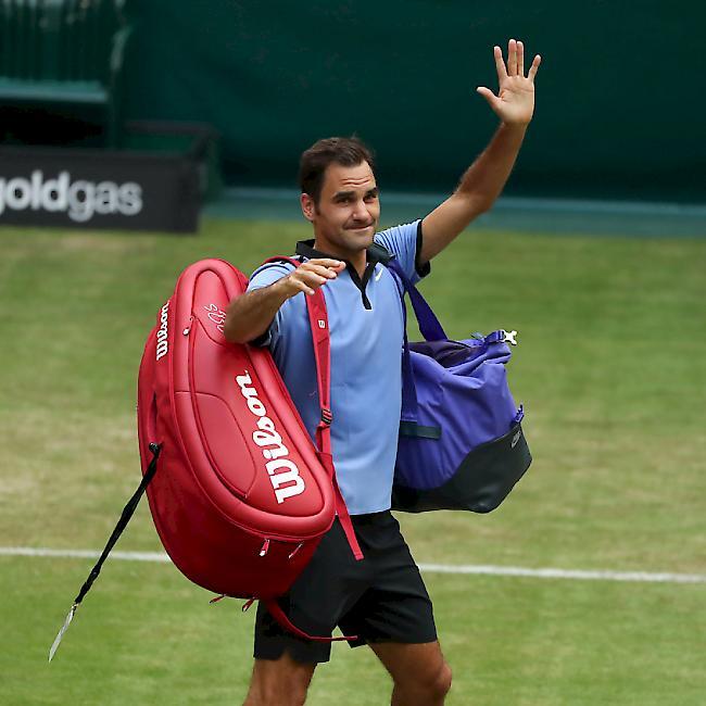 Traumfinale krönt 25. Gerry Weber Open: Zverev gegen Federer