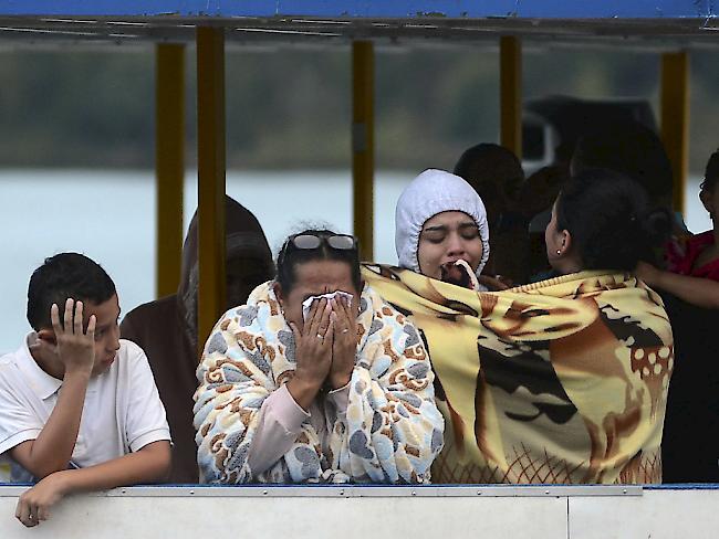 Ausflugsschiff gesunken: Mindestens neun Tote in Kolumbien