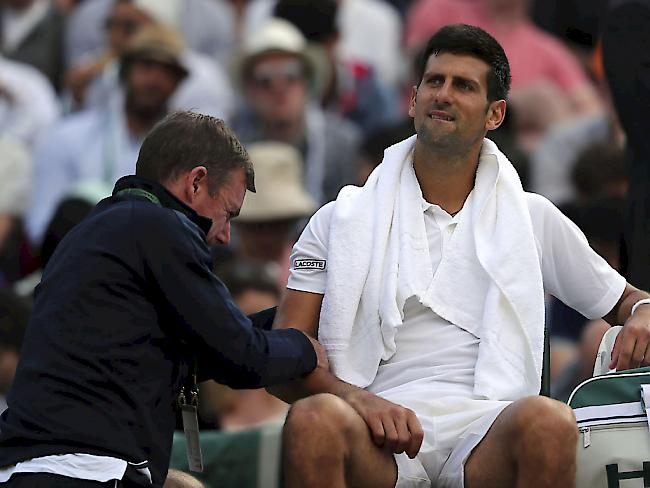Titelverteidiger Murray scheitert in Wimbledon