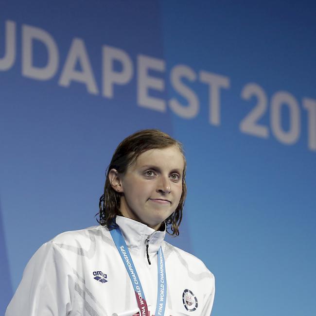 Ledecky ist die erfolgreichste Schwimmerin