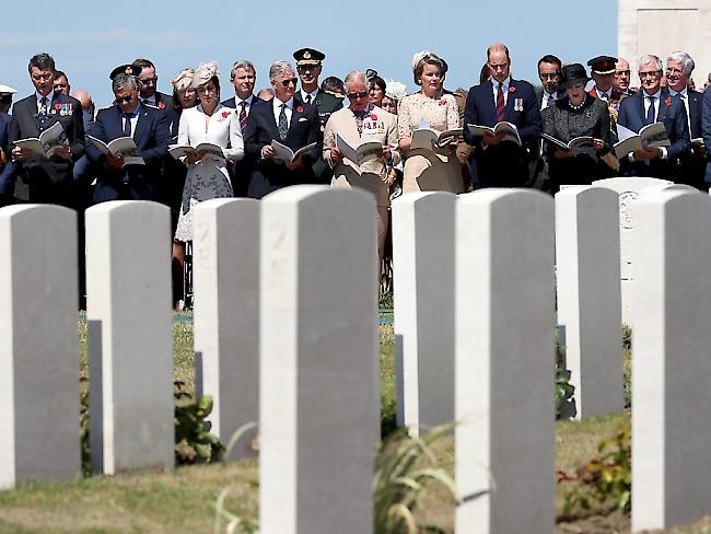 Gedenken zum 100. Jahrestag der Flandern-Schlacht