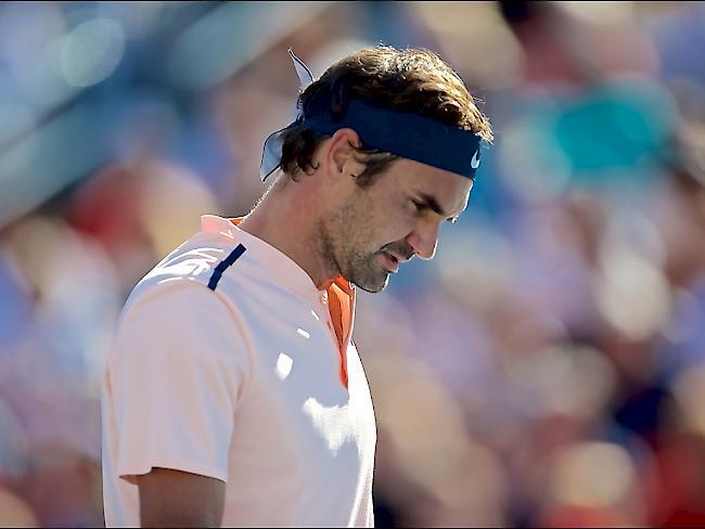 Nichts mit der Nummer 1: Federer gibt Forfait