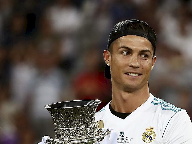 Ronaldo zum dritten Mal Europas Spieler des Jahres