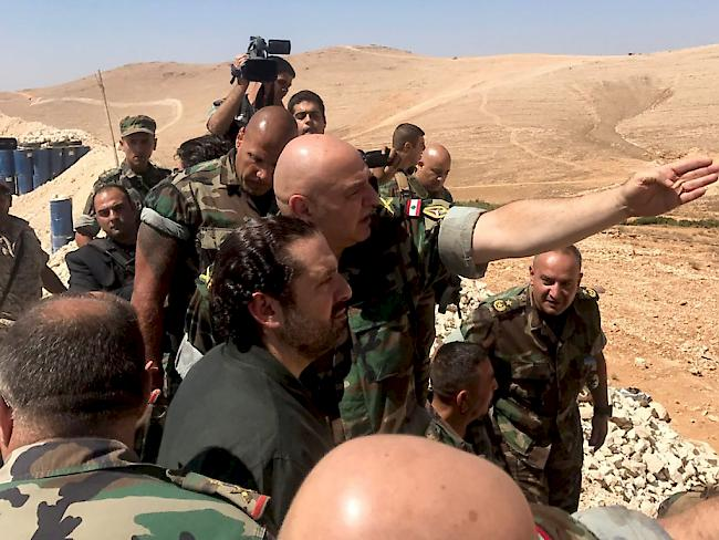 Feuerpause an syrisch-libanesischer Grenze in Kraft