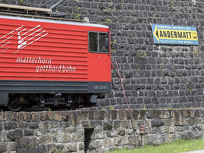 Verletzte bei Auffahrunfall der Matterhorn-Gotthard-Bahn