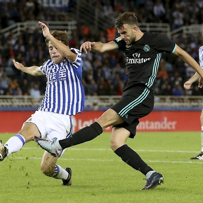 Real Madrid mit Arbeitssieg gegen Real Sociedad