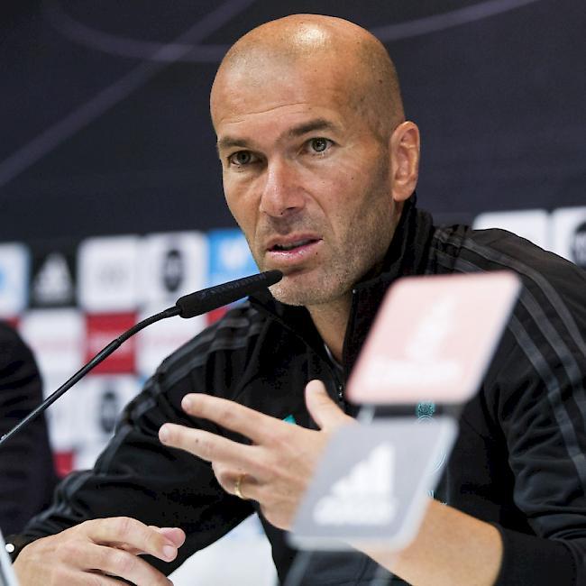 Zidane gibt Vertragsverlängerung bei Real Madrid bekannt