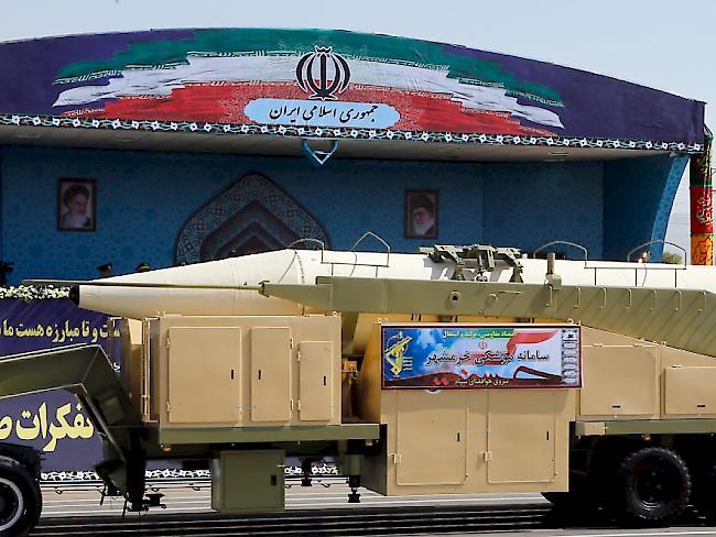 Iran meldet erfolgreichen Test einer Mittelstreckenrakete