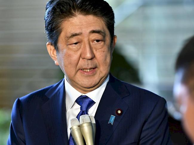 Japans Regierungschef Abe will milliardenschweres Konjunkturpaket